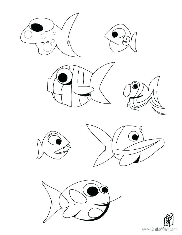 618x799 Tropical Fish Coloring Pages Fish Coloring Pages Printable Fish
