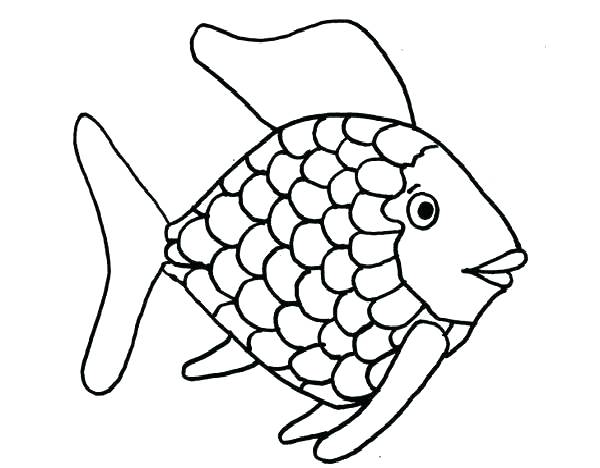 600x468 Tropical Fish Coloring Pages Free Printable Of Get Bubbles