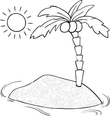 380x400 Island Coloring Pages Island Coloring Page Nims Island Colouring