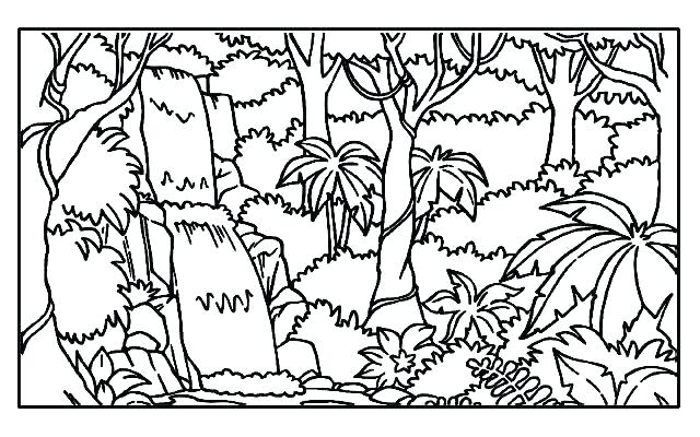 640x400 Tropical Coloring Pages Coloring Pages With Tropical Parrots