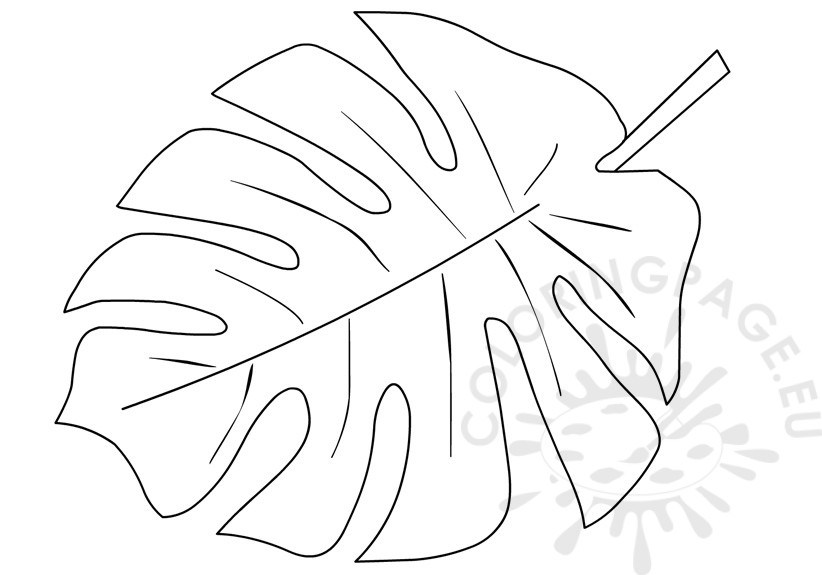 822x575 Coloring Pages Of Leaves Free Printables