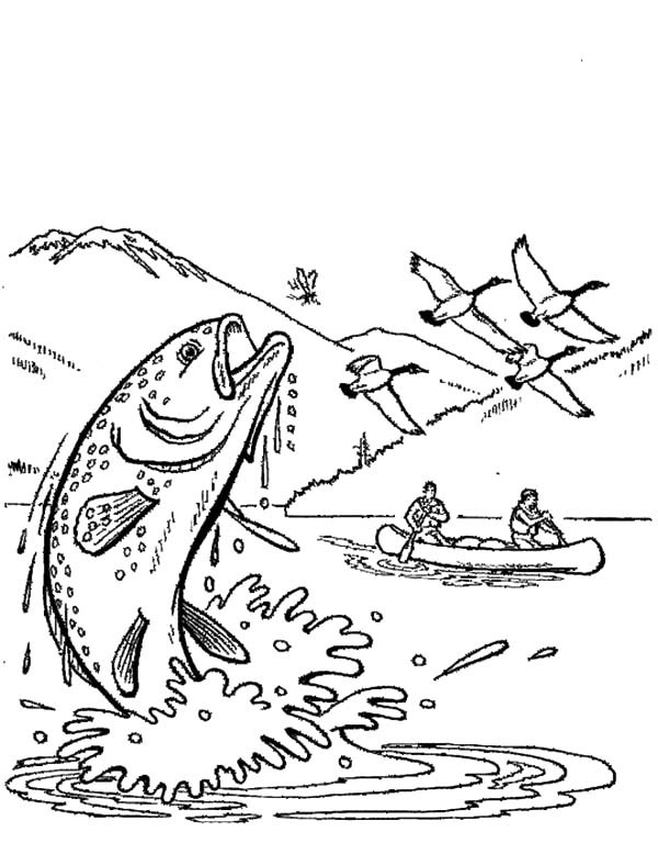 600x778 Hunting Apache Trout Coloring Pages Best Place To Color