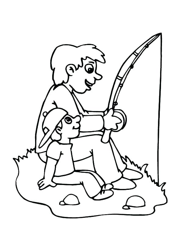 600x825 Trout Fish Coloring Pages Deepart