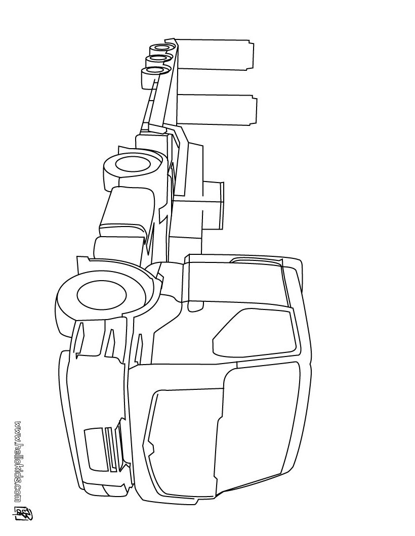 820x1060 Tractor Trailer Cute Truck And Trailer Coloring Pages