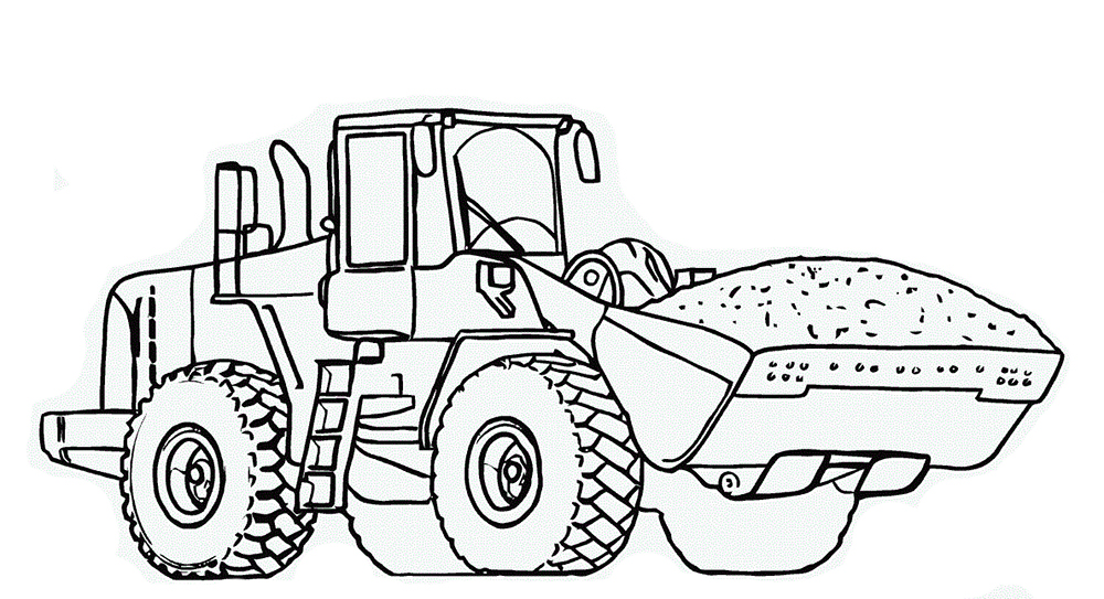 1000x543 Dump Truck Coloring Good Truck Coloring Pages