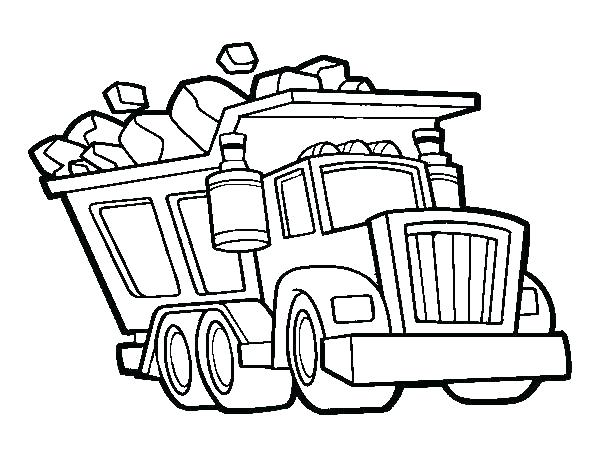 600x470 Dump Truck Coloring Pages Awesome Printable Truck Coloring Pages