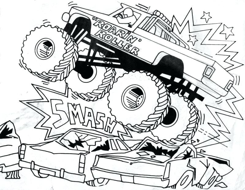 800x620 Monster Truck Coloring Pages Monster Truck Coloring Pages Grave
