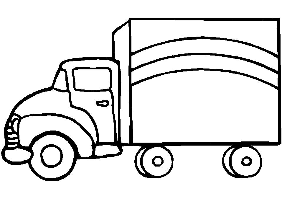 957x718 Free Printable Truck Coloring Pages Download