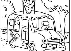 250x180 Truck Coloring Pages Printables