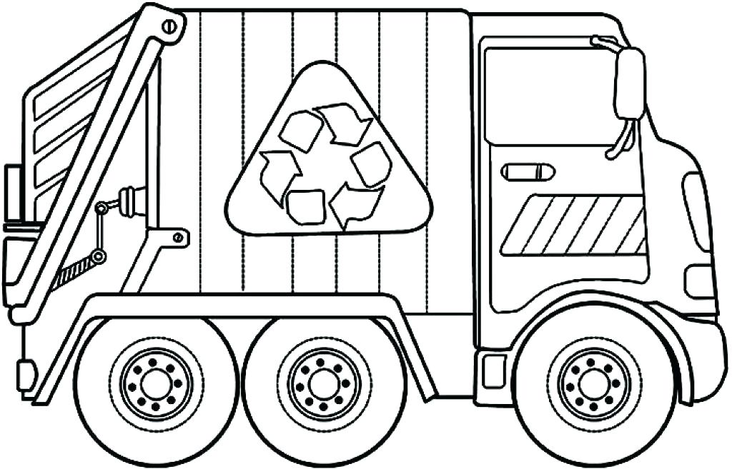 1024x657 Construction Trucks Coloring Pages