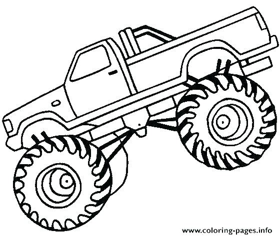 560x475 Grave Digger The Legend Coloring Pages