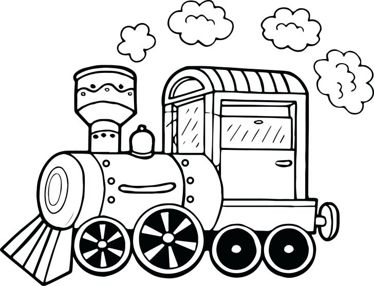 728x557 Coloring Pages For Adults Train Modern Garbage Truck Dump Drawings