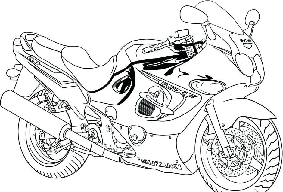 940x639 Fire Truck Coloring Page For Kids Trucks Coloring Pages Big