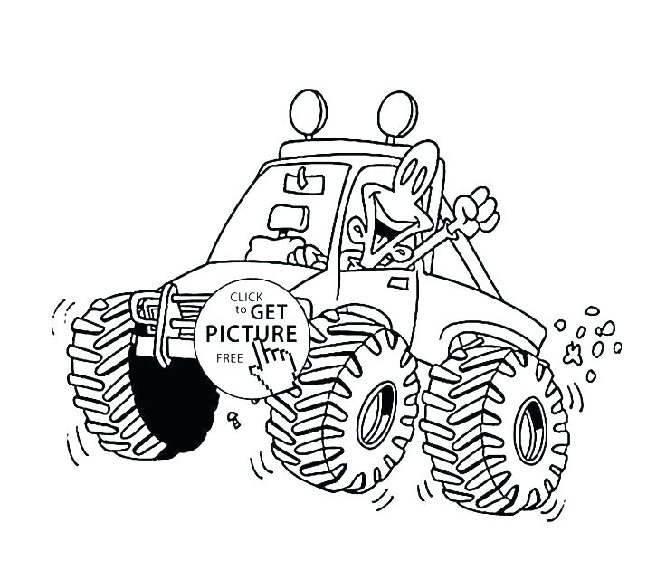 736x630 Truck Coloring Book