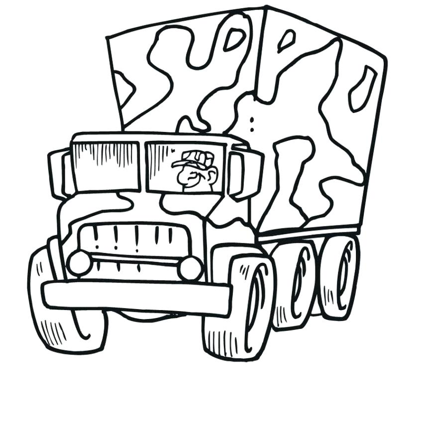 848x864 Army Truck Coloring Pages Army Colouring Pages Coloring Vehicles