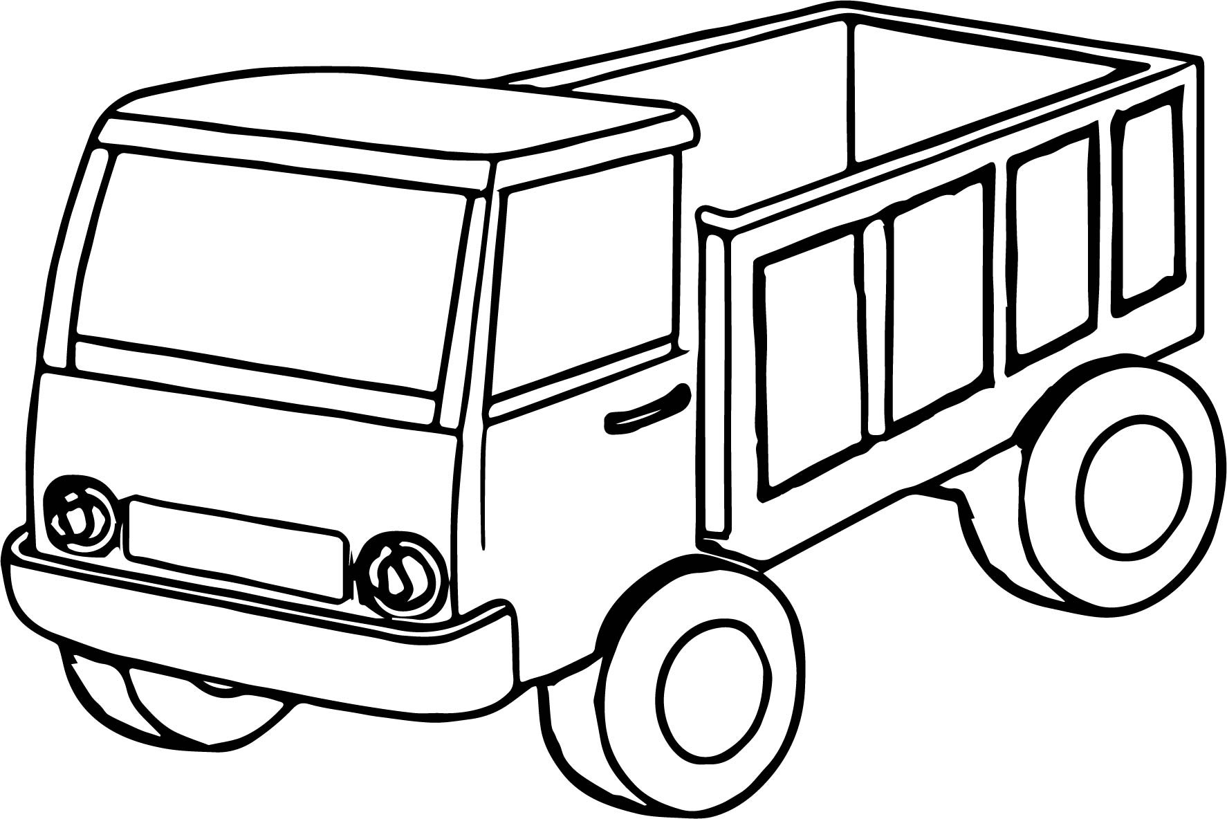 1774x1184 Excellent Truck Coloring Pages For Preschoolers Sampler