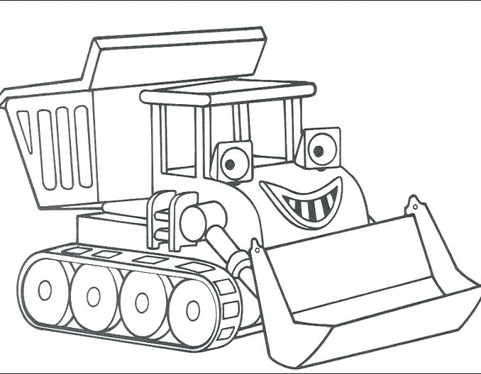 678x528 Construction Truck Coloring Pages Free Construction Coloring Pages