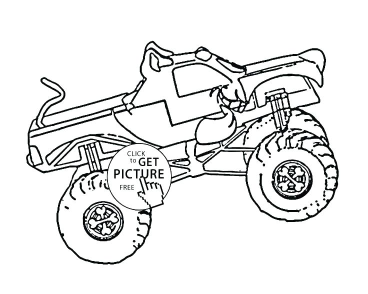 736x588 Grave Digger Coloring Pages Grave Digger Monster Truck Coloring