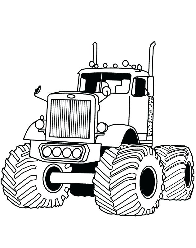 632x798 Monster Truck Coloring Pictures Monster Truck Iron Outlaw Coloring