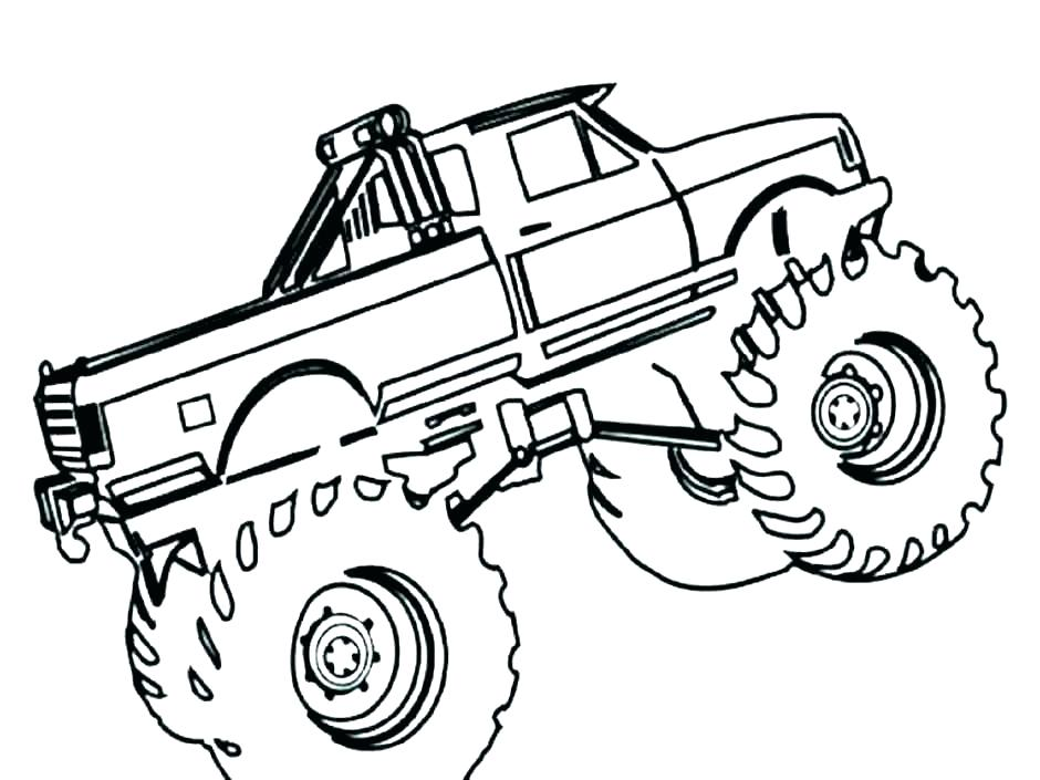 940x705 Colouring Pages Monster Trucks Icontent