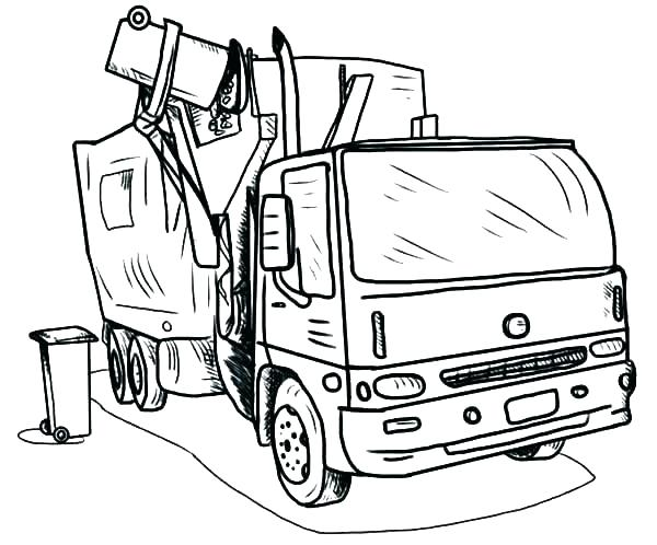600x498 Fire Truck Coloring Pages To Print Fire Truck Coloring Page Fire