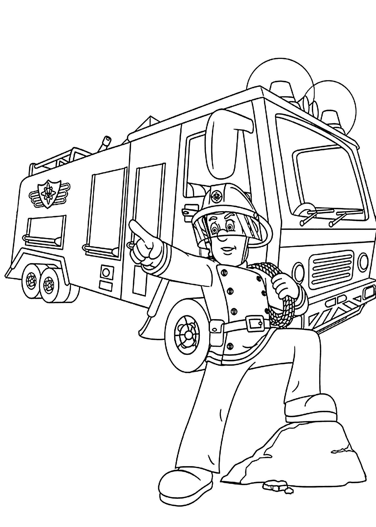 1483x2079 Penny From Fireman Sam Coloring Pages For Kids Unique Robocar Poli