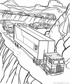 236x282 Tow Truck Coloring Page Trucks Tow Truck, Color