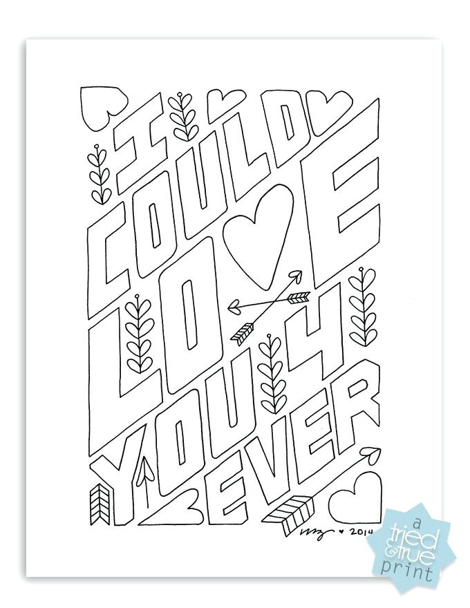 680x880 Coloring Pages Love Birds You Forever Free Page Tried True