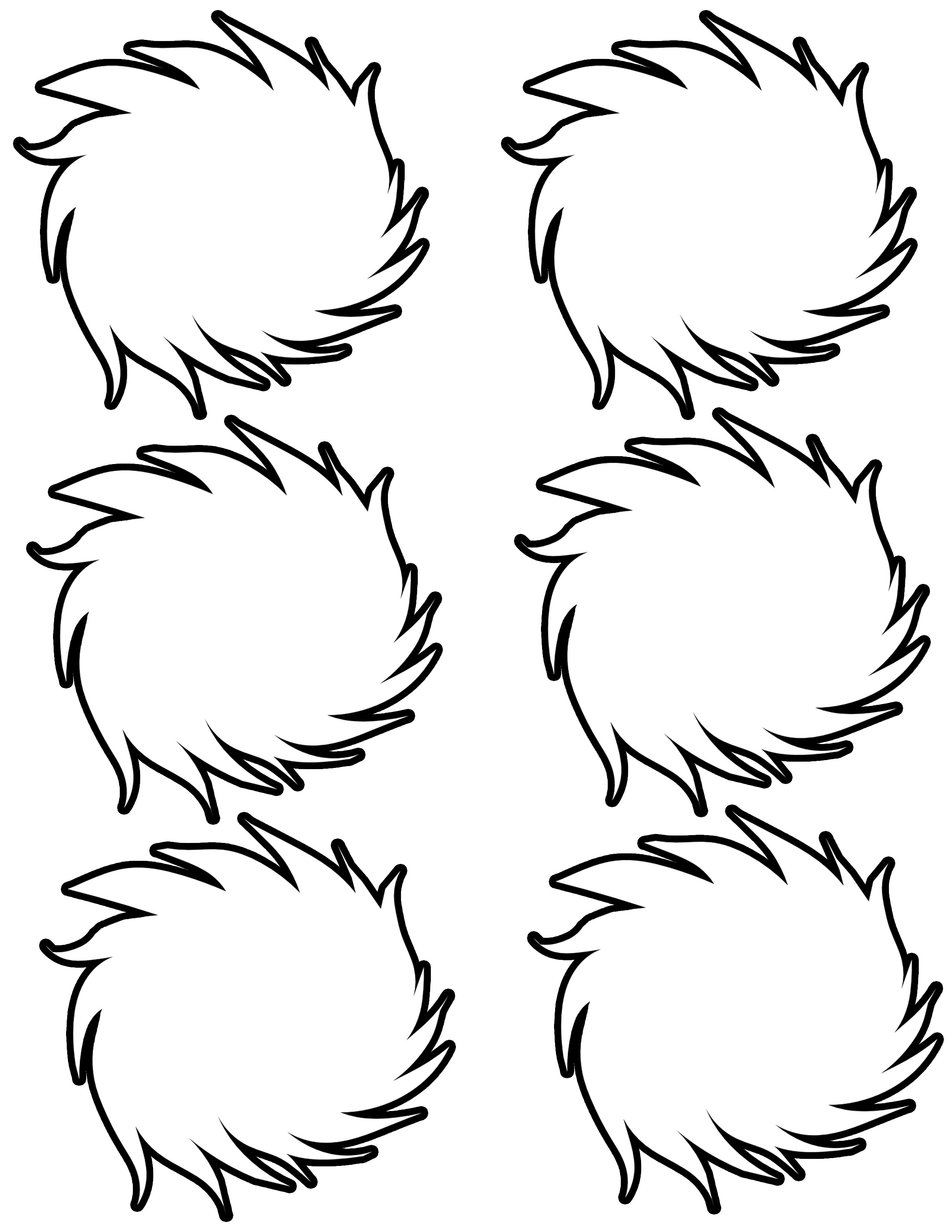 graphic regarding Lorax Template Printable identify The simplest absolutely free Lorax coloring webpage photos. Obtain in opposition to 102