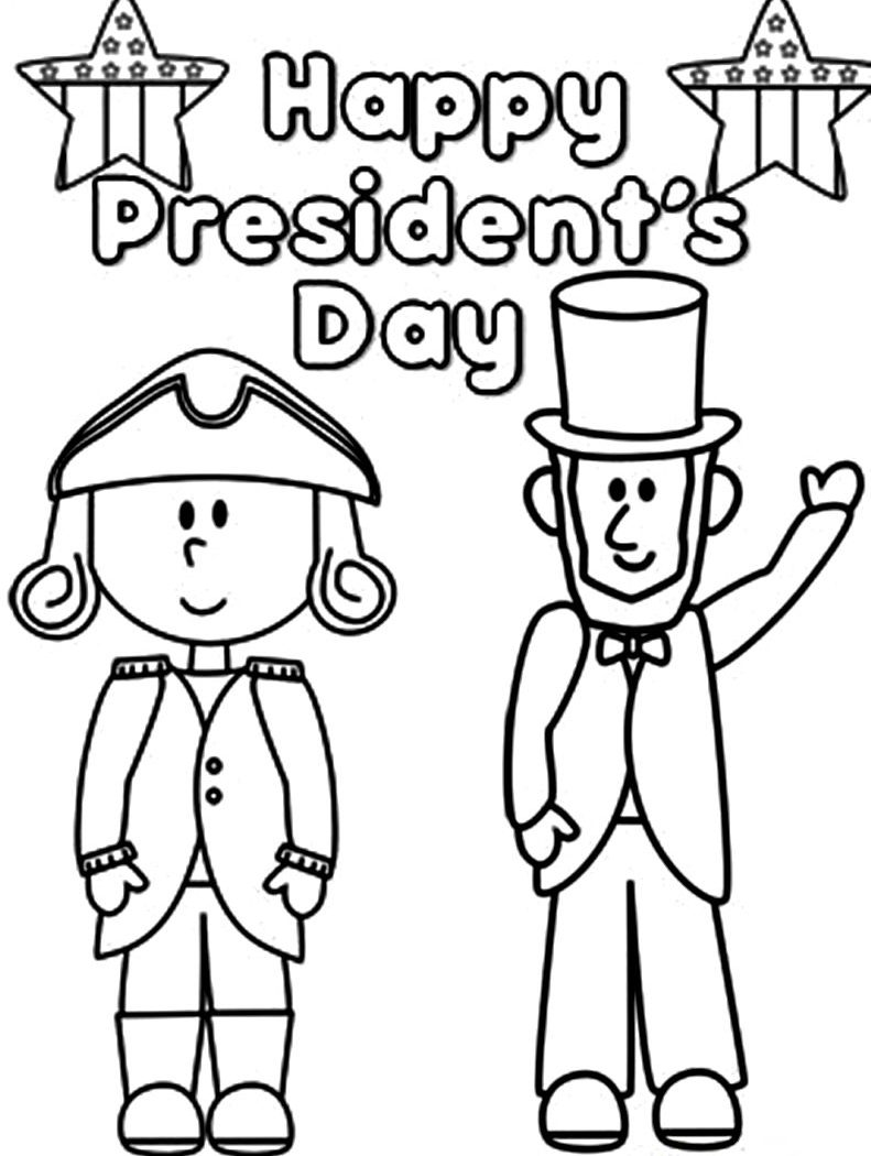791x1050 Simple Coloring Pages Of Presidents Growth Don
