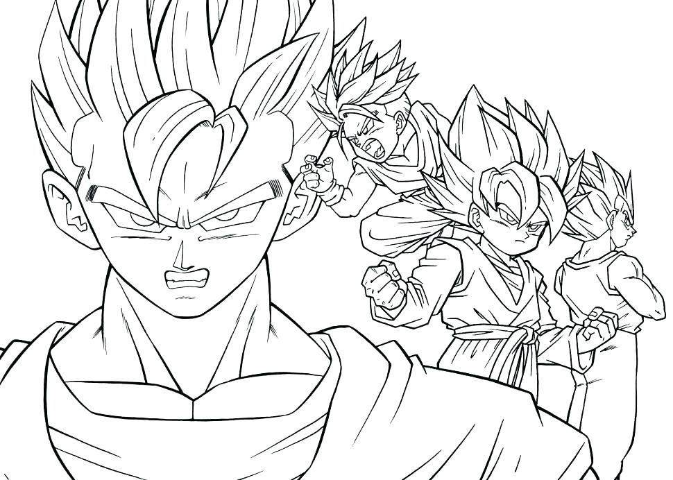 970x692 Dragon Ball Z Coloring Page Dragon Ball Z Coloring Page Dragon