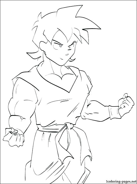 560x750 Dragon Ball Z Coloring Pages Goku Super Saiyan Dragon Ball Gt