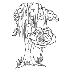 230x230 Top Tree Coloring Pages For Your Little Ones