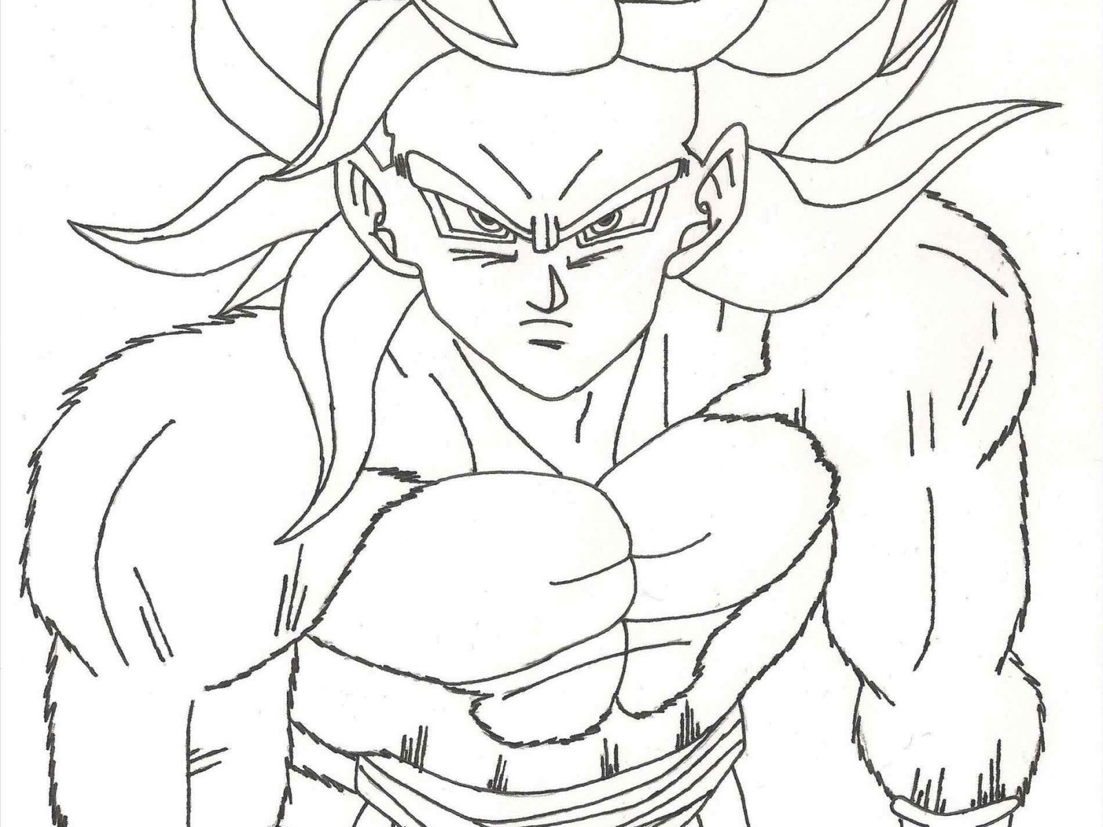 1600x1200 Wallpapers Goten And Trunks Coloring Pages Dragon Ball Z Free