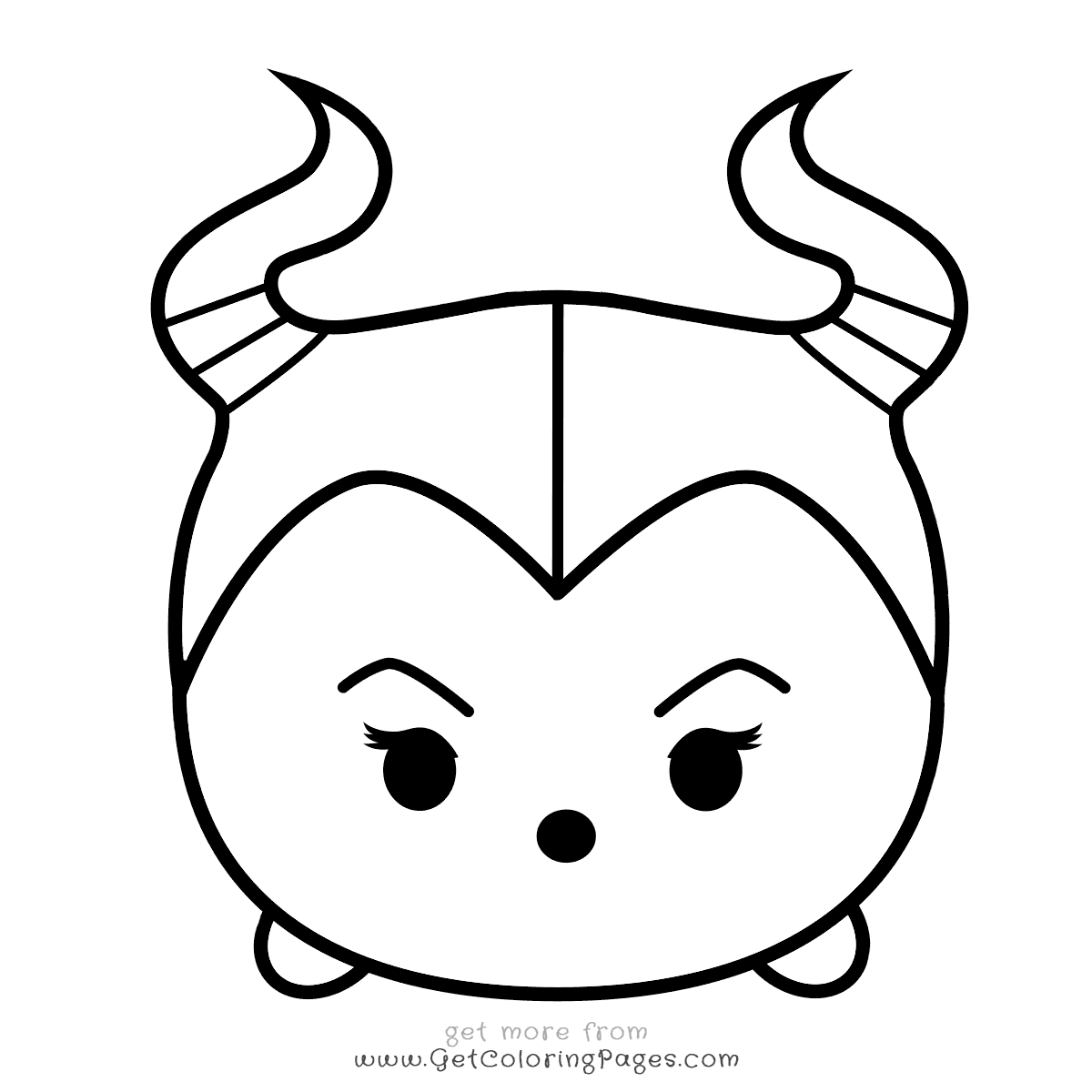 Tsum Tsum Coloring Pages Printable At Getdrawings Free Download