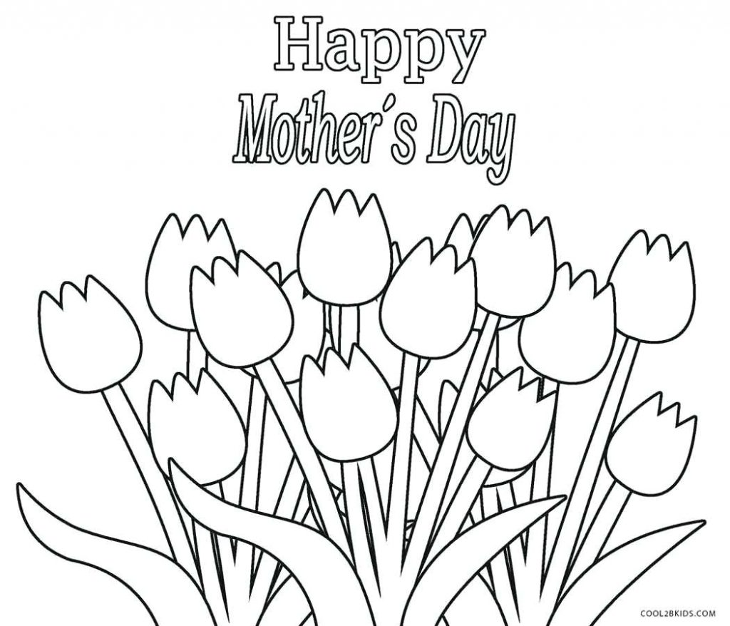 1024x878 Coloring Page Tulip Coloring Page Drawing Butterfly Flowers