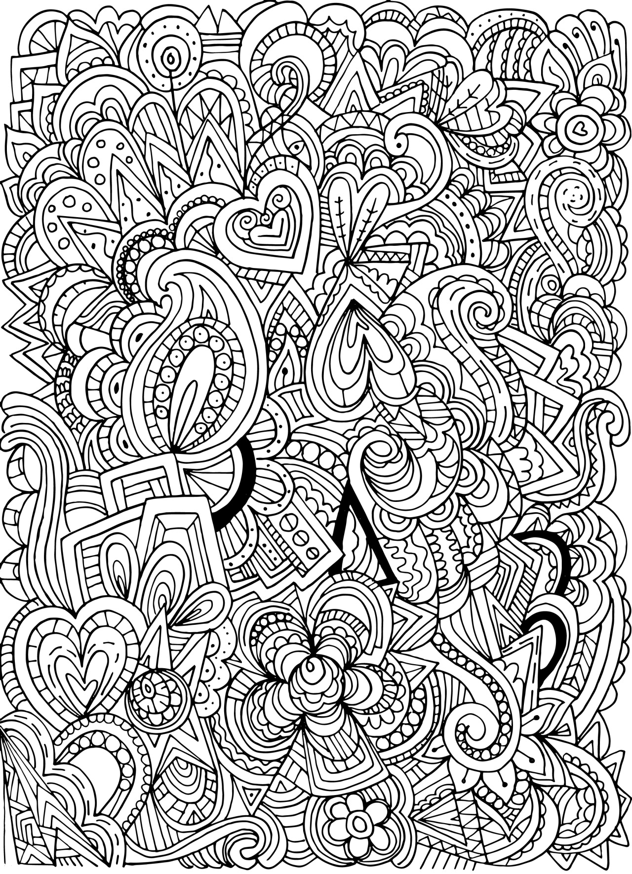 1280x1771 Unusual Coloring Pages Tumblr In Tumbler
