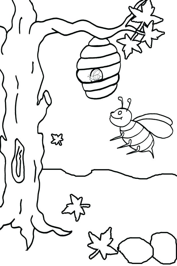 618x927 Bumble Bee Printables Printable Bumble Bee Coloring Pages For Kids