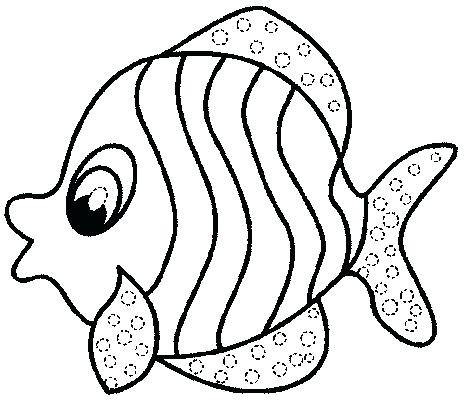 464x400 Printable Fish Pictures Printable Fish Coloring Pages Simple Ideas