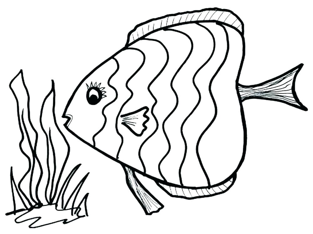 1000x750 Tuna Fish Coloring Page H Coloring Pages Preschool