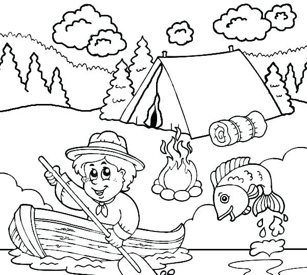 600x537 Tuna Fish Coloring Page Picture Of A To Colour Color Animal Tuna