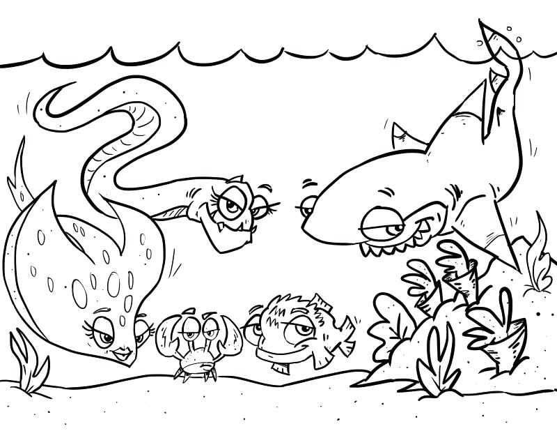 800x618 Tuna Fish Coloring Page Tuna Coloring Pages Coloring Pages