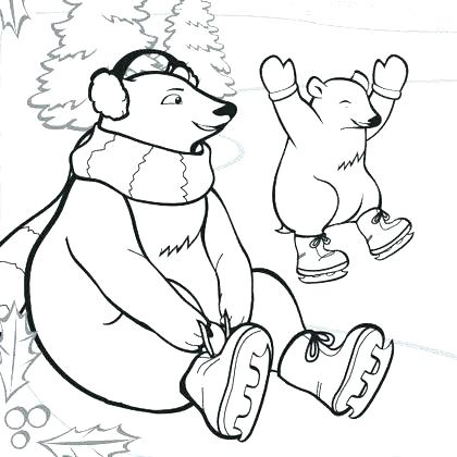 420x420 Free Polar Region Animals Coloring Pages The Animals Coloring