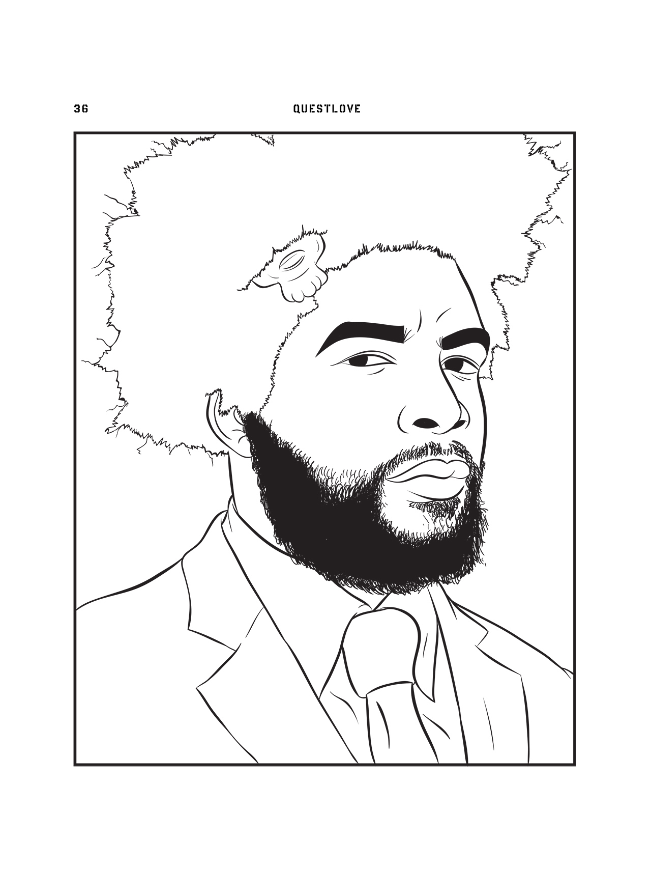 Tupac Coloring Pages at GetDrawings