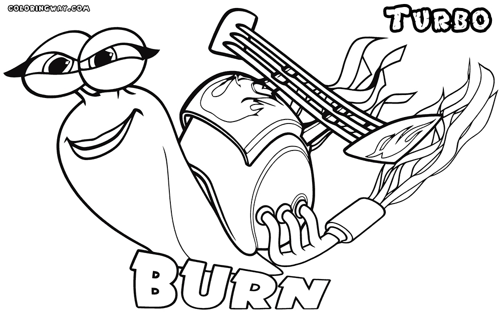 1000x632 Turbo Coloring Pages Elegant Turbo Coloring Pages Logo