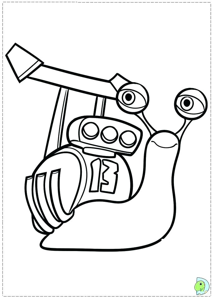 691x960 Turbo Coloring Pages Turbo Coloring Pages Snail Coloring Page