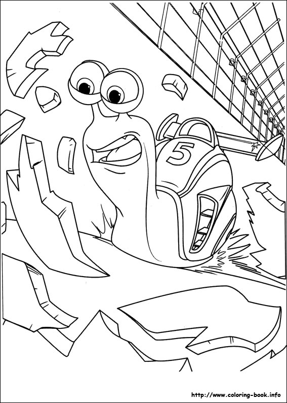 567x794 Turbo Coloring Pages On Coloring