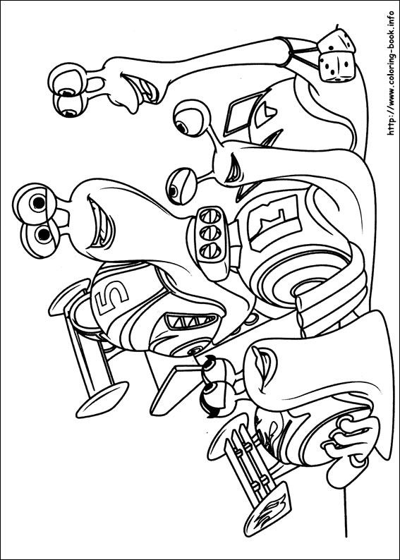 567x794 Turbo Coloring Picture Disneys Coloring Pages