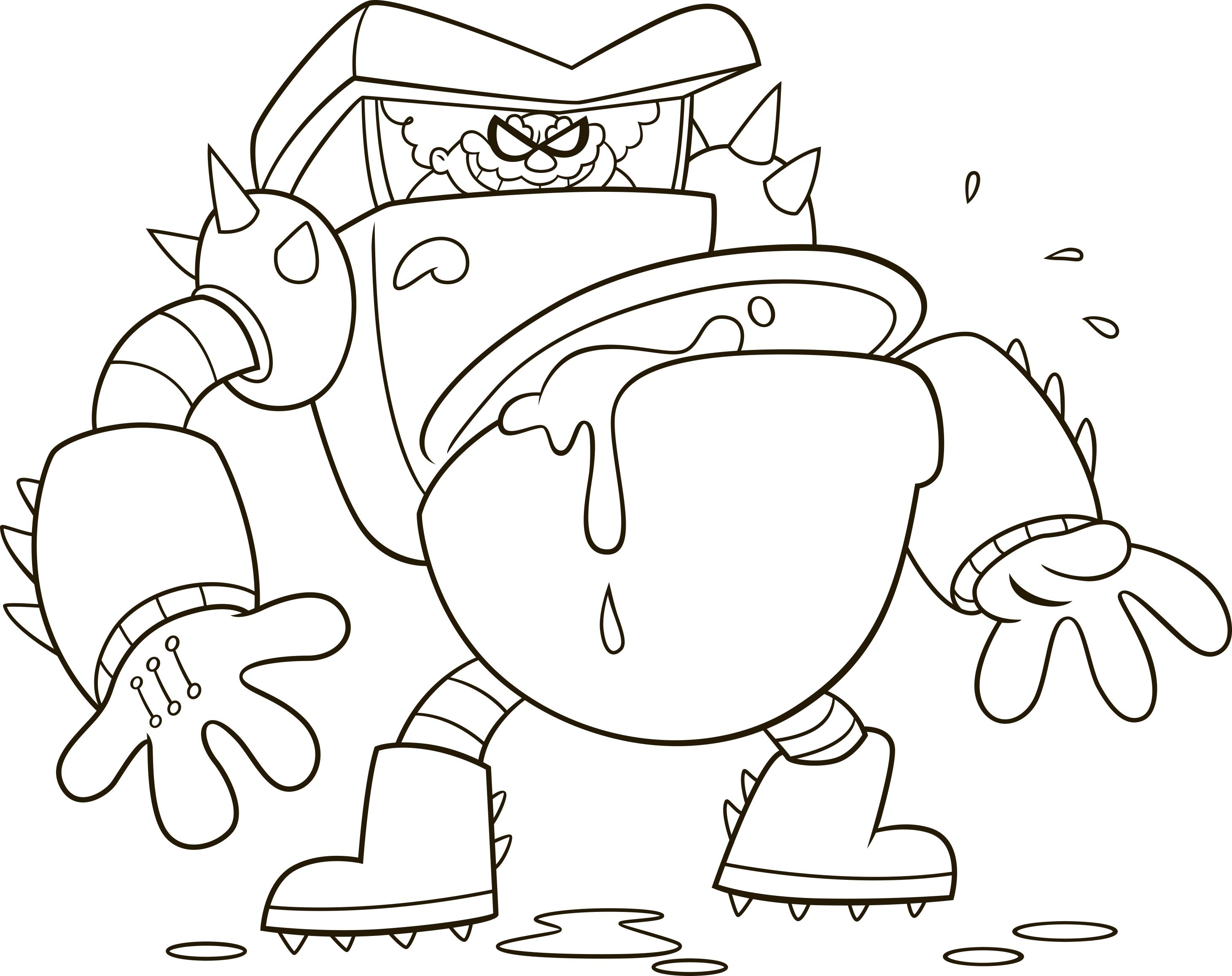 2922x2315 New Captain Underpants Coloring Pages Collection Printable