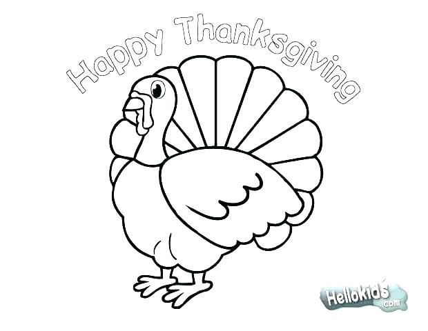 620x480 Turkey Coloring Pages To Print